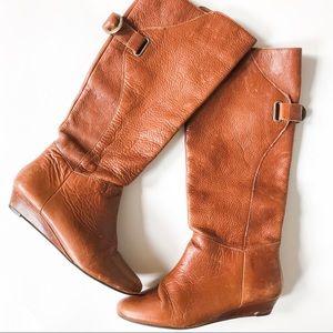 Steven by Steve Madden Iden Cognac Boots Size 6.5